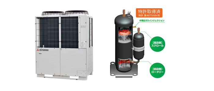 MHI to launch CO2 condensing unit