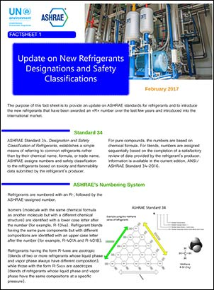 Refrigerant Fact Sheet Free To Download  Cooling Post