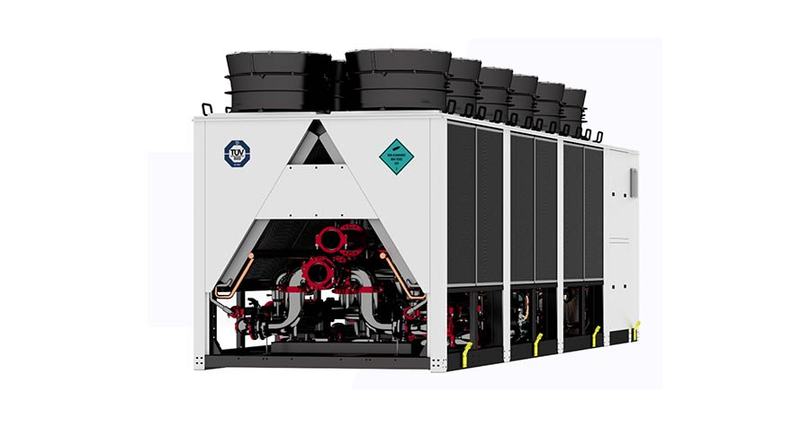 Freecool chiller offers R1234ze