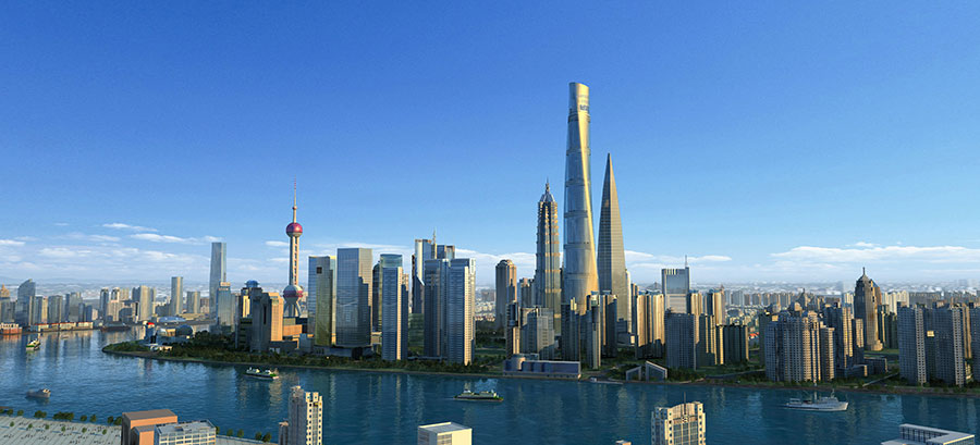 Johnson Controls hits new heights in Shanghai