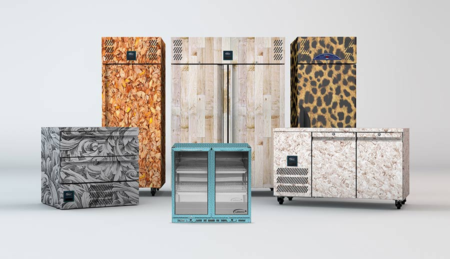 Chameleon fridges stand out from the crowd