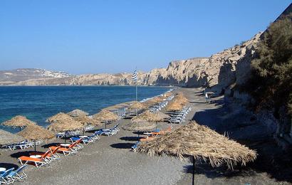 Santorini - Vlychada