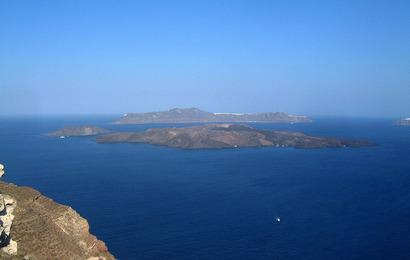 Santorini - vulkán