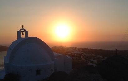 Santorini - západy slunce