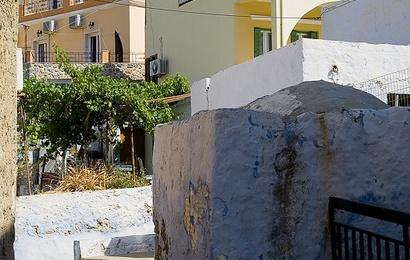 Kalymnos,Chora bývalé hl.město a Kastro Chrysocheria