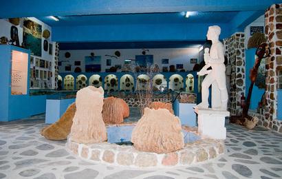 Kalymnos,Vlichadie,Museum mořských objevů bratrů Valsamides