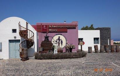 Santorini - vinařství - návštěva muzea vína spojená s prodejní o...