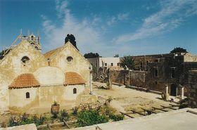 v areálu kláštera Moni Arkadi