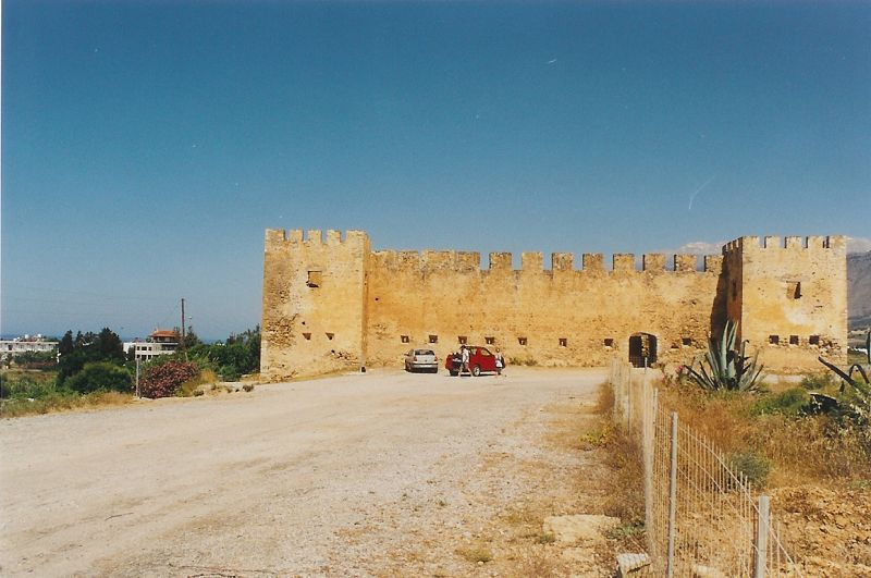 Frangokastello - benátská pevnost
