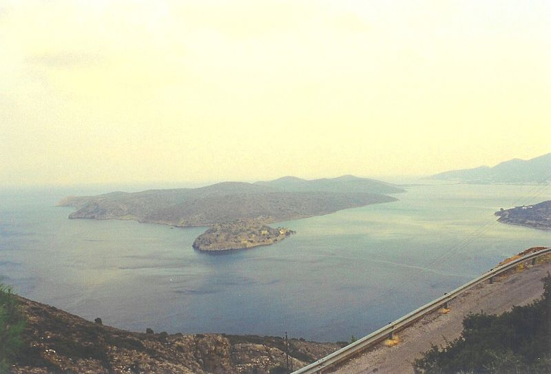 Spinalonga shora