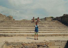 Festos - monumentální schodiště, šířka 13,75 m