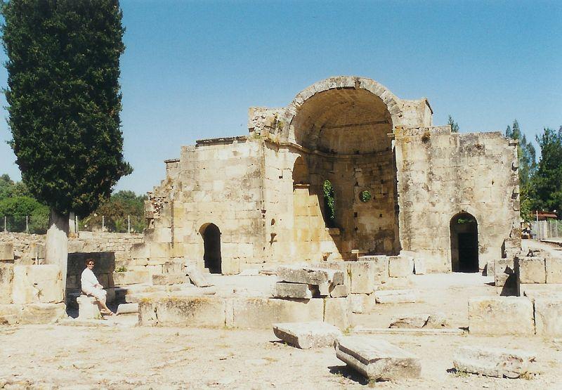 Gortys - chrám Sv. Tita