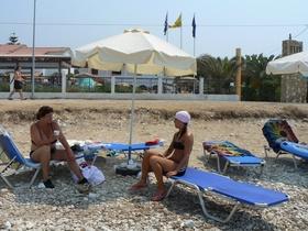 Acharavi - pláž