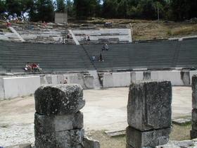 ant. divadlo nad Limenas - stav  v roce 2005