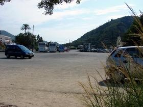 parkoviště po ránu celkem volné, 3Eu parkovné