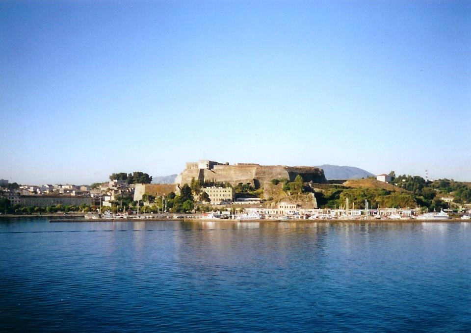 Kerkyra - stará pevnost