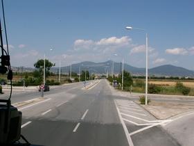 cestou ze Soluně do Sarti