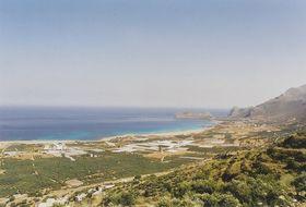 Phalassarna - dlouhá pláž