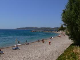 Agia Fotia - pláž