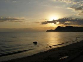 Vychod slunce v Sidari