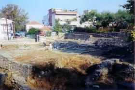 Limenas - ruiny Poseidonova chrámu