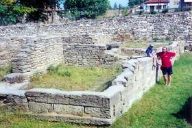 Limenas - základy chrámu Arkuda