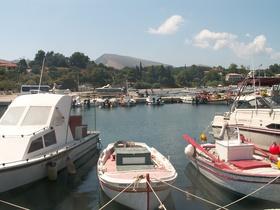 přístav Laganas