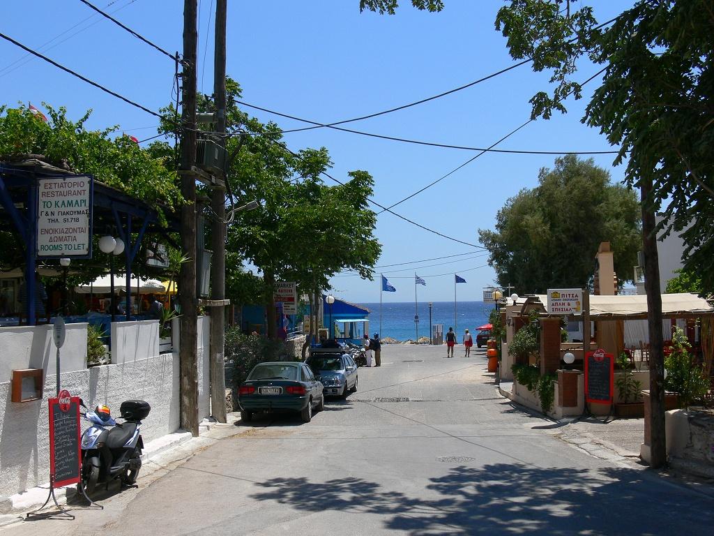 Přicházíme do Agia Fotini