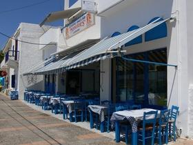Agia Fotini - modrobílá taverna