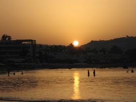 Západ slunce na Georgiopolis