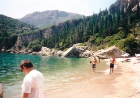 Liapades - hlavní pláž