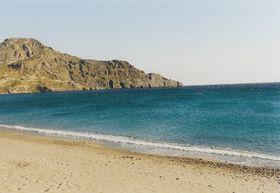 Pláž v Plakias