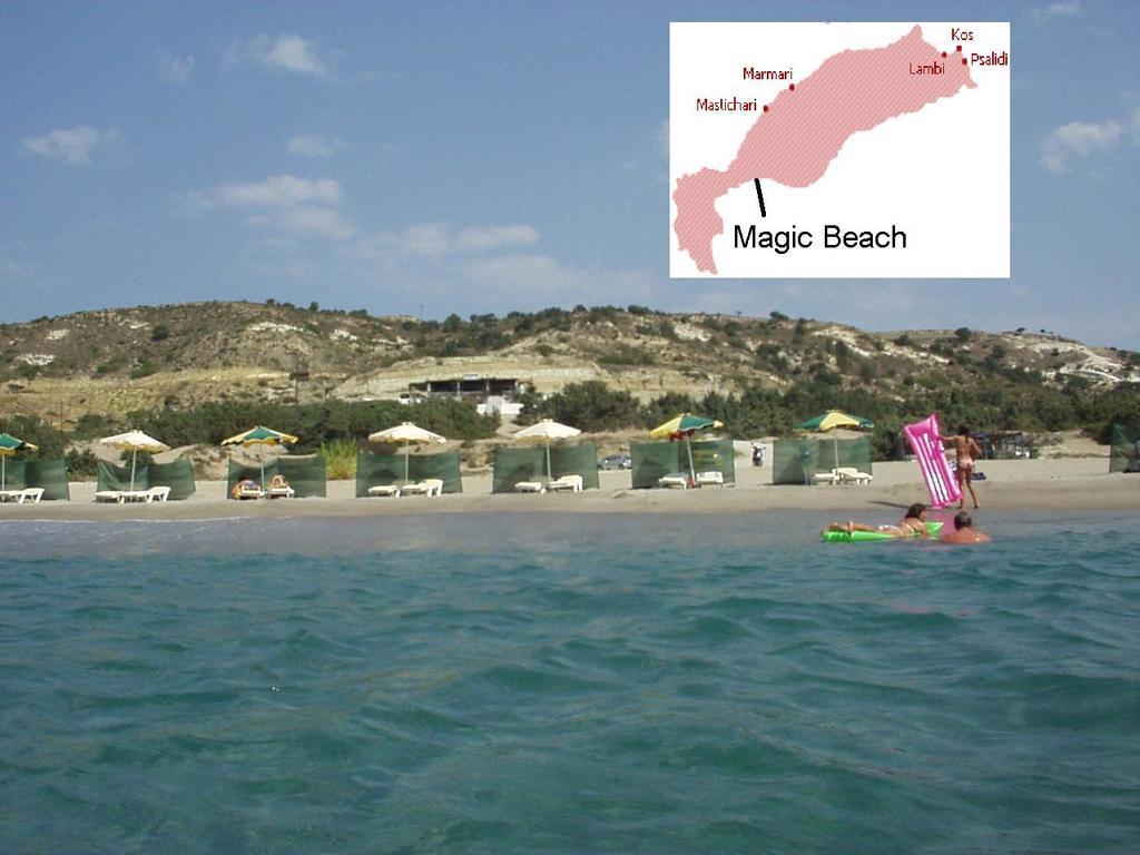 nejkrásnější pláž ostrova Magic Beach (Paradise Beach)