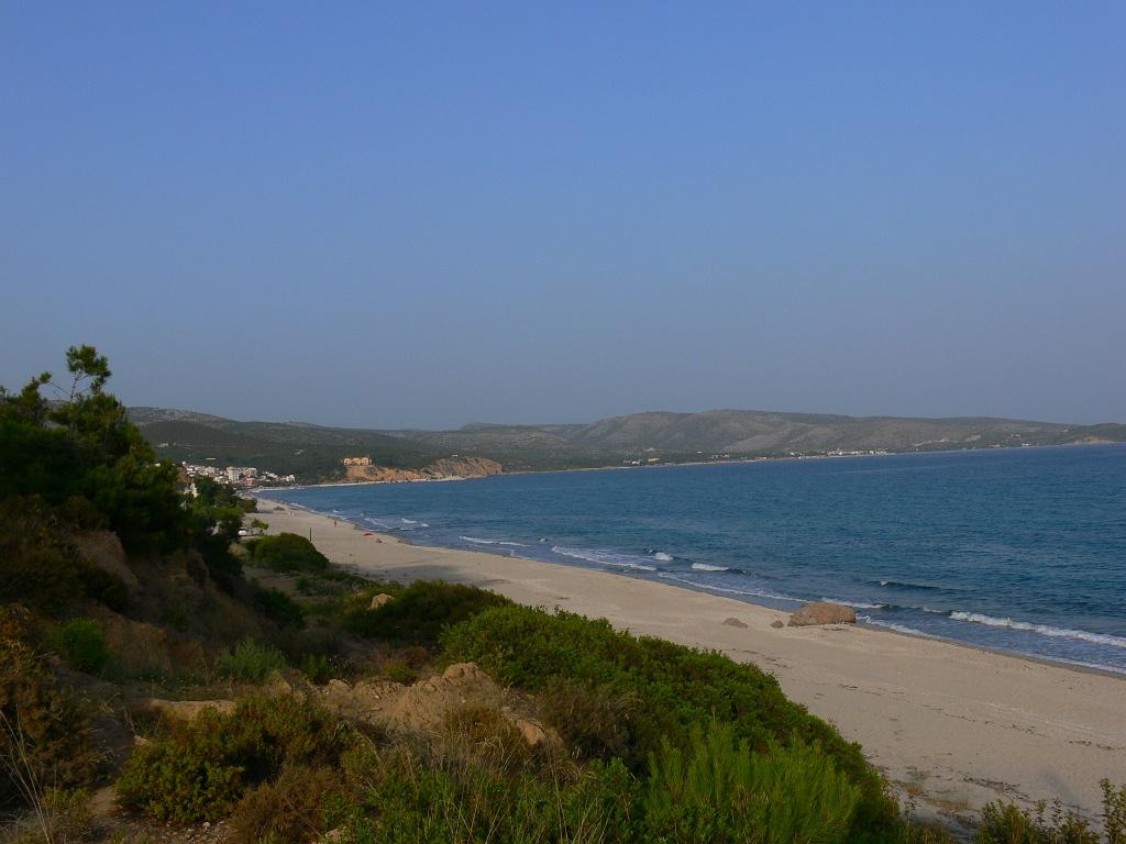 Pláž u Limenarie
