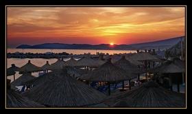 Potos - nádherný západ slunce