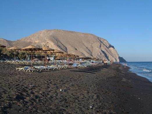 Perissa - pláž
