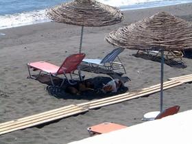 Perissa - pláž 2