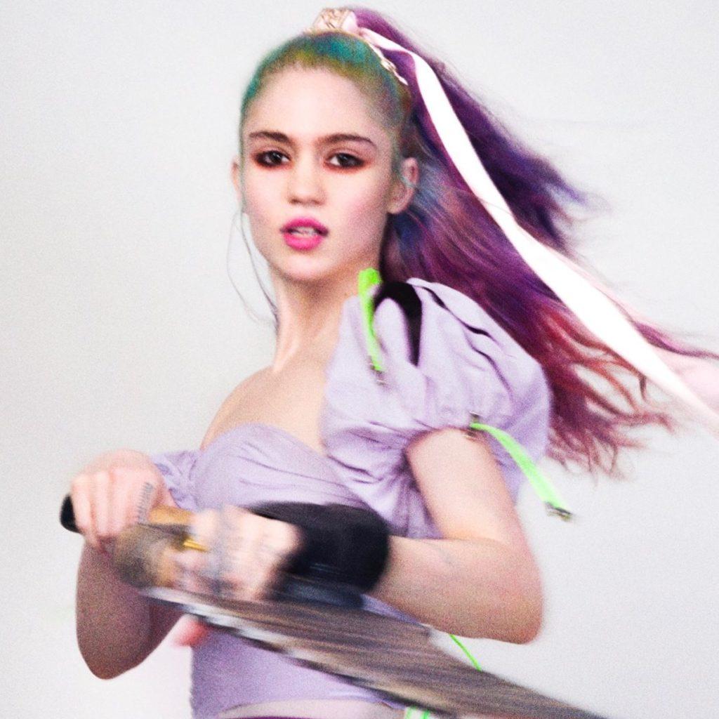 "Nieuwe single Grimes & HANA – ""We Appreciate Power"""