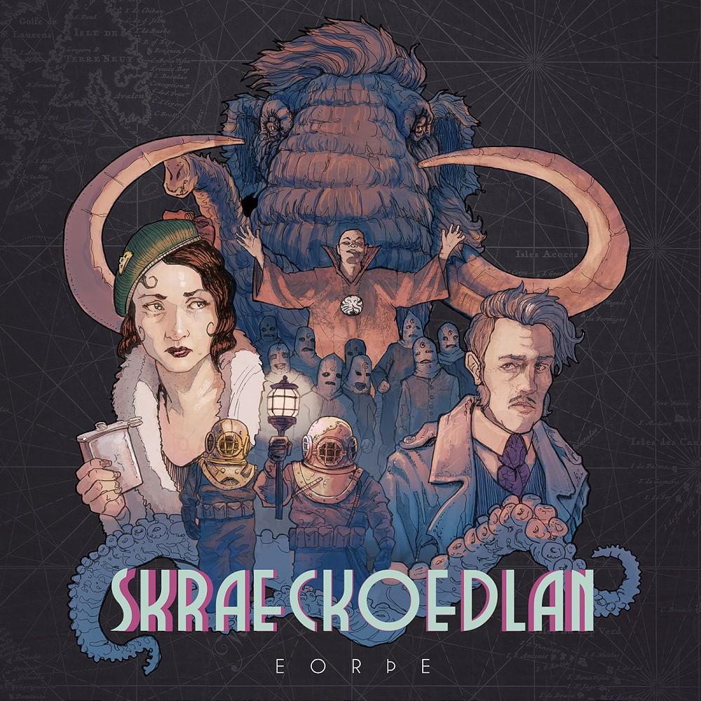 Skraeckoedlan – Eorþe (★★★½): Lekker progressief Scandinavisch in een heerlijk jasje van Fuzz.