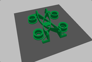Stand alone spool holder
