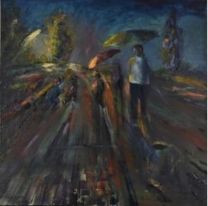 «Όσο πιο μακριά γίνεται» Έκθεση ζωγραφικής του εικαστικού Γιώργου Στεφάνου