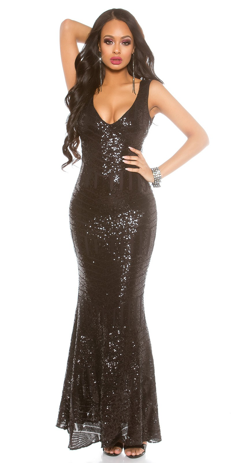 Red Carpet Look! Sexy KouCla Gown