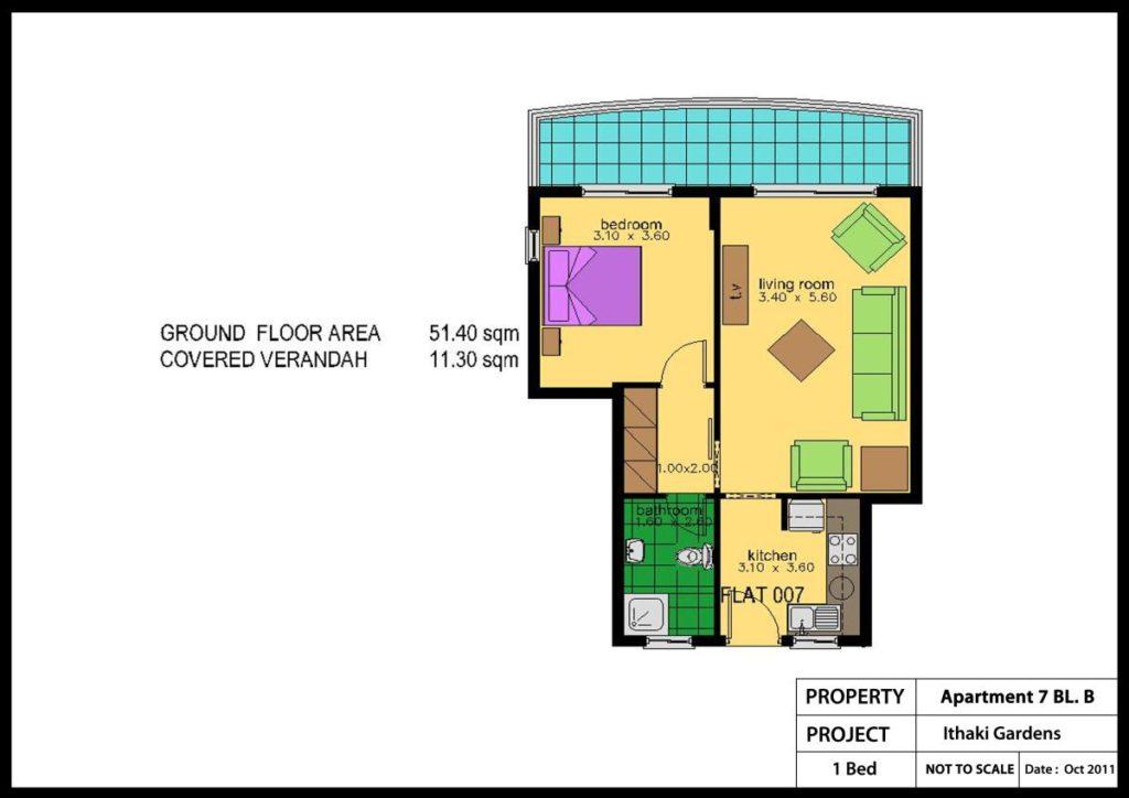 Ithaki Gardens Apartment No.7-BL.b Colour plan_1200x848