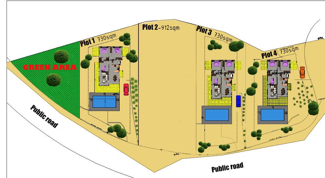 Kathikas Site Plan