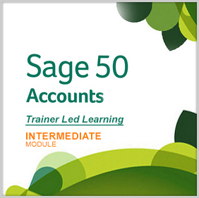 Sage 50 Accounts – Trainer Led Learning (Intermediate Module)