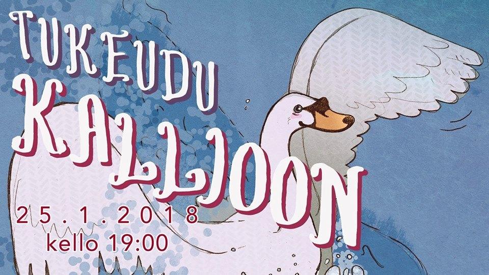 Tukeudu Kallioon varainhankintakonsertti juliste.