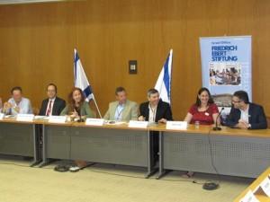 Treffen zum Thema Jugendpolitik mit MK Stav Shafir in der Knesset, 27. Mai 2014