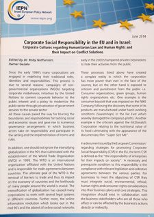 Corporate Social Responsibility - English