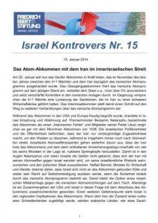 Israel Kontrovers 15