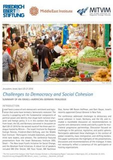 Challenges to Democracy 2016